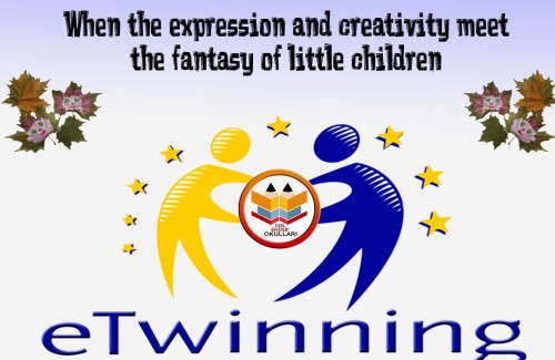 When the expression and creativity meet the fantasy of little children